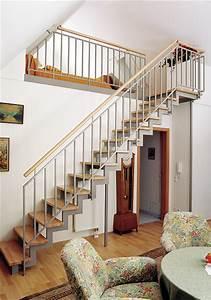 Treppe Zum Dachboden Nachträglich Einbauen : raumspartreppen von stadler treppen elegant und platzsparend ~ Orissabook.com Haus und Dekorationen