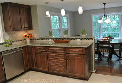 u shaped kitchen remodel ideas u shaped kitchen remodel contemporary kitchen dc metro by rjk construction inc