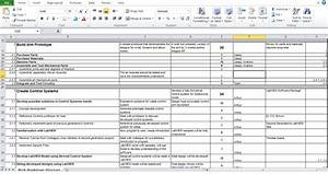 Work breakdown structure for bicycle life style by for Product breakdown structure excel template