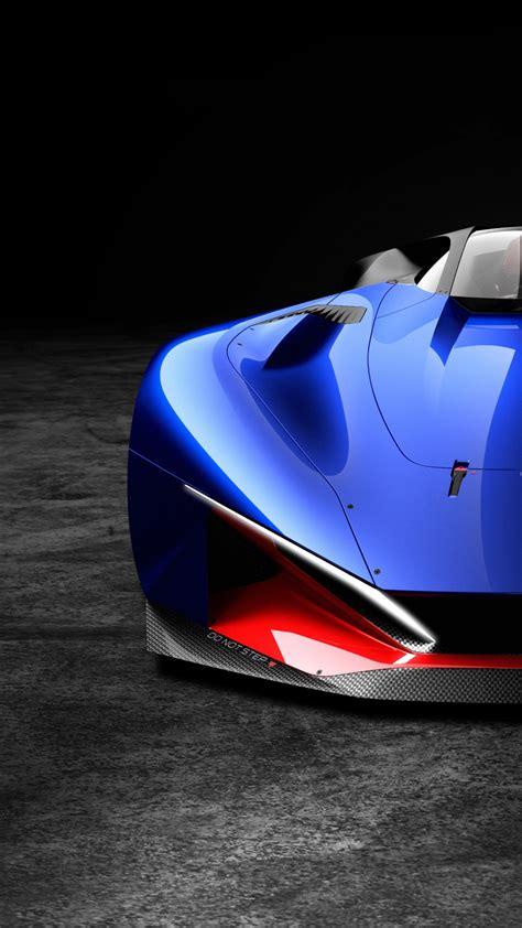 wallpaper peugeot   hybrid supercar blue cars