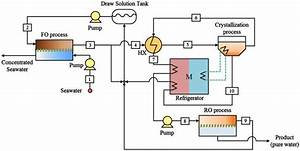 Schematic Diagram Of The Proposed Hybrid Process