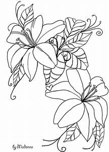 Black And White Line Drawings Of Flowers | www.pixshark ...