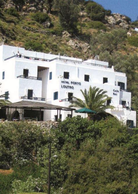 hotel porto loutro porto loutro hotel loutro crete sunvil co uk