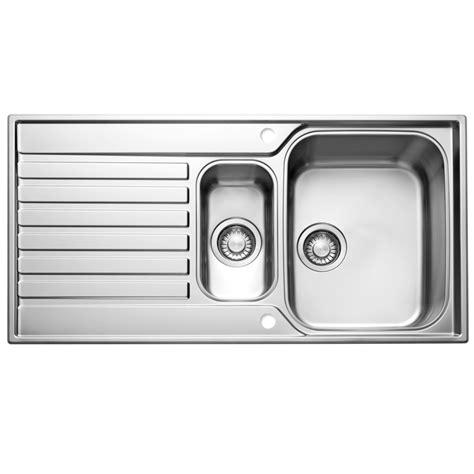 kitchen sink 1 5 bowl franke ascona 1 5 bowl silk stainless steel kitchen sink 5613