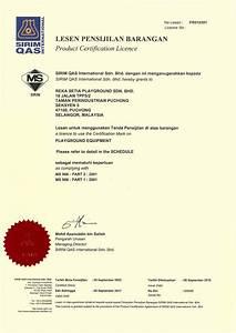 Certificate Of Excellent Rekasetia Qulity Standards