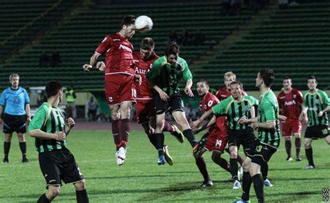 si鑒e sarajevo bosnia sconfitta per lo zeljeznicar si riprende il sarajevo calcio dell 39 est