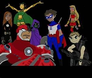 Robin- Captin America Starfire- Thor Beastboy- Hawk Eye ...