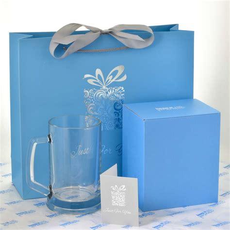 personalised pint glass  birthday gift