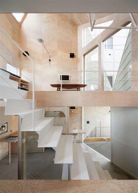 herringbone house tiny tokyo residence split