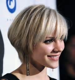 Short Hairstyles With Bangs Pictures Inofashionstyle com