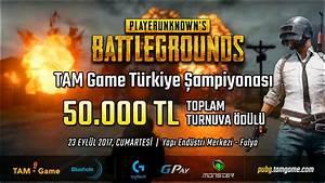 TAM Game PUBG Trkiye Ampiyonas 2017