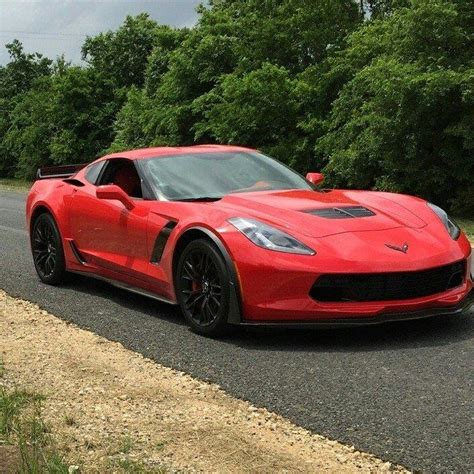 ouch brand   corvette  smashes  trees carscoops