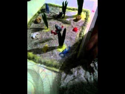 como hacer una maqueta desierto