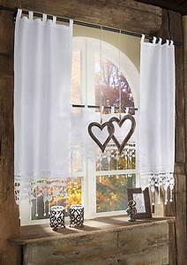 Gardine Für Küche : scheibengardine gro glockner hossner art of home deco ~ Watch28wear.com Haus und Dekorationen