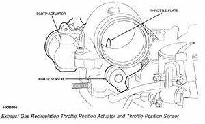Where Is The Throttle Position Sensor Located On A 2004