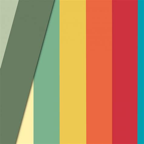 vn lines rainbow color pattern wallpaper