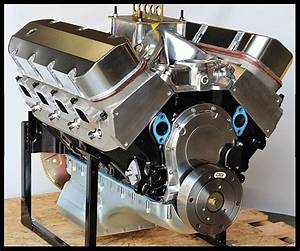 Bbc Chevy 454  468 Engine  Dart Block  Crate Motor 600 Hp