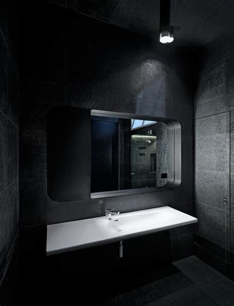 Schwarze Fliesen Bad by Badezimmer Schwarze Fliesen