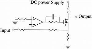 Schematic Diagram Of  A  Ac Amplifier And  B  Transistor