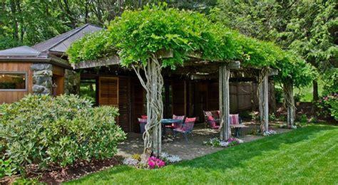 Garten Mit Carport Gestalten by 10 Kletterpflanzen F 252 R Pergola Traumhafte Sitzpl 228 Tze Im