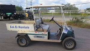 2002 Club Car Carryall Turf 252 Industrial Gas Utility