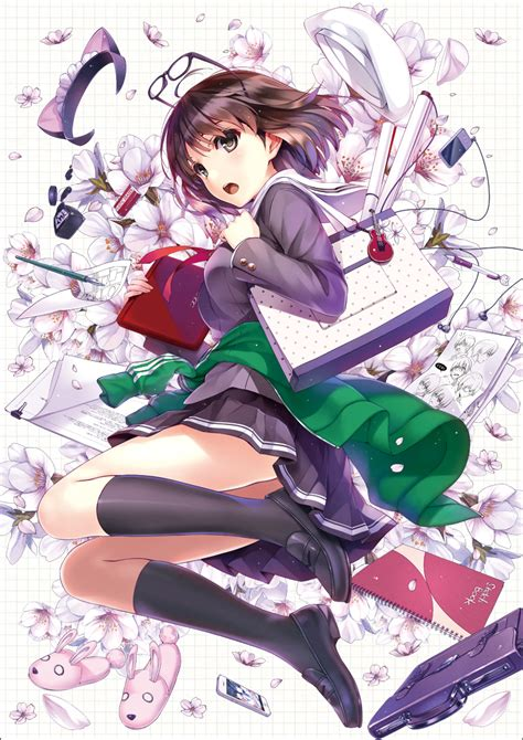 pengarang anime guilty crown light novel quot saenai heroine no sodate kata quot akan