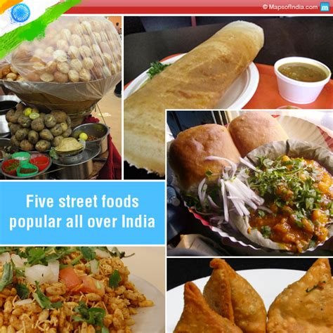 hawker cuisine five most popular foods of india my india