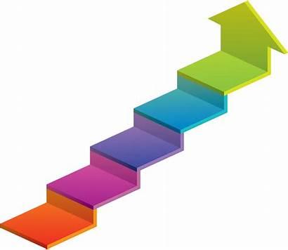 Ladder Clipart Clip Cartoon Arrow Transparent Banker