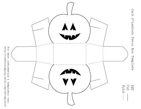 o lantern templates free printable o lantern favor box template