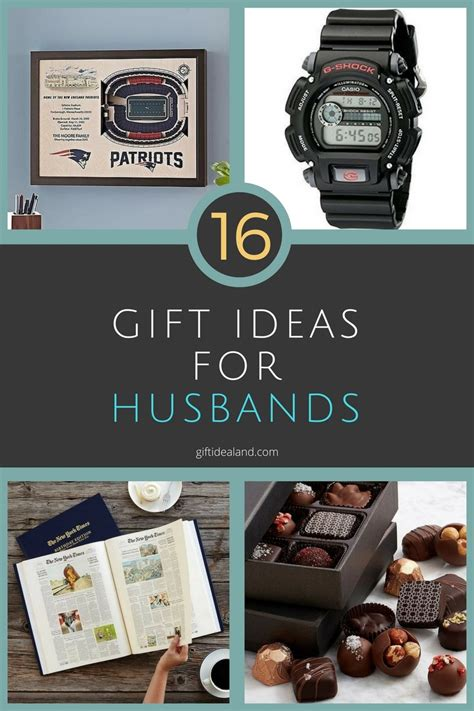 16 Great Gift Ideas For Husbands That He Will Love