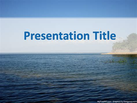 river powerpoint template   powerpoint