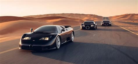 Attention (p/40)^1.6 = (p/40) puissance 1.6 et non fois. Photos des Bugatti EB110, Veyron et Chiron réunies - L'Automobile Magazine