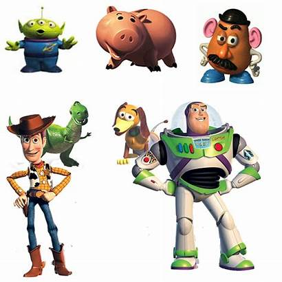 Toy Characters Story Buzz Woody Lightyear Toys