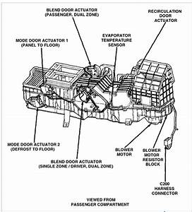 1999 Dodge Ram Blower Motor Resistor Location