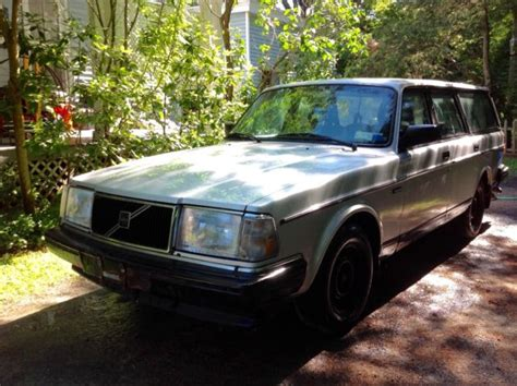 volvo station wagon 240 volvo station wagon silver 1993 needs engine classic