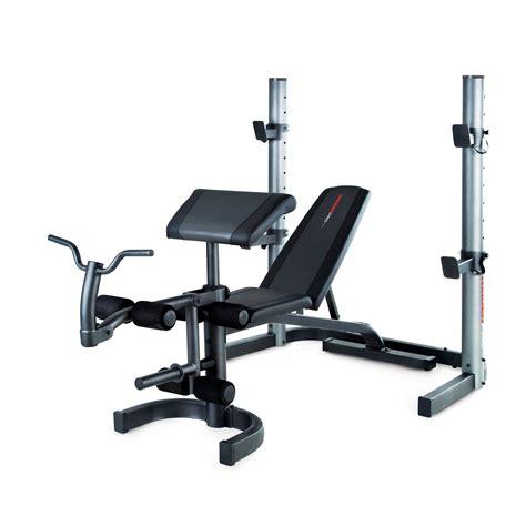 Weider Pro 490 Dc Weight Bench
