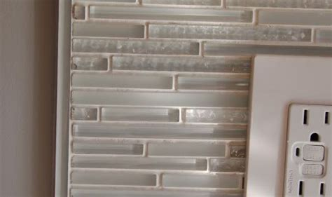 organizing a small kitchen trim fornglass mosaic this is how we finished our glass 3788
