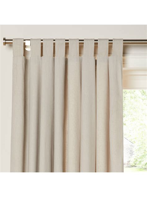 Tab Top Drapes Curtains - house by lewis yin pair reversible tab top curtains