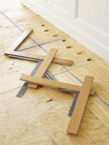 how to install a herringbone floor this old house With how to lay a parquet floor in a herringbone