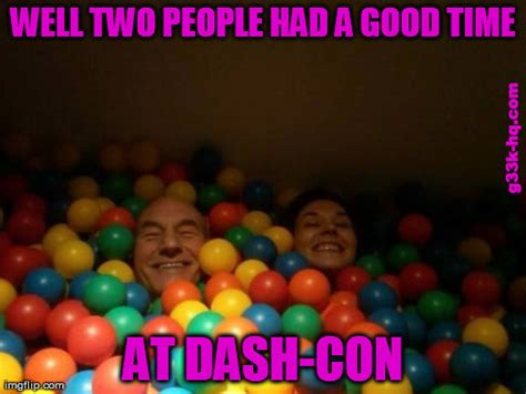 Ball Pit Meme - these two had fun in the ballpit dashcon know your meme