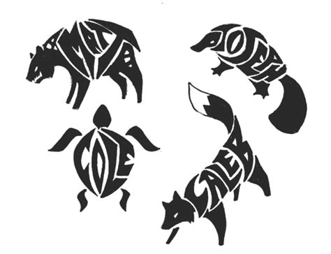 Tribal Animal Wallpaper - tribal animal designs name animal tribal tattoos 3 by
