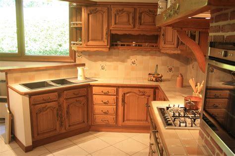 cuisines rustiques bois meuble cuisine rustique tabouret de bar feponi style