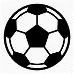 Icon Soccer Ball Football Icons Clipart Education