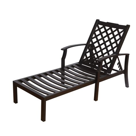 chaise aluminium exterieur black metal chaise lounge chair shop oakland living
