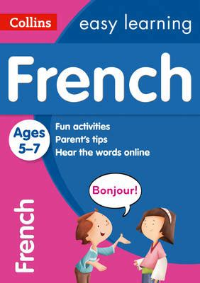 0008134200 collins easy learning age collins easy learning french age 5 7 collins