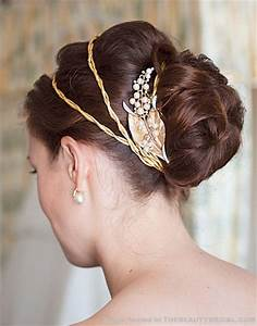 Modern Wedding Hairstyles With Bun
