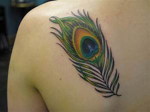 36+ Peacock Feather Tattoos Designs And Pictures