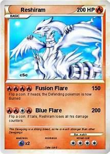 Pokémon Reshiram 4882 4882 - Fusion Flare - My Pokemon Card