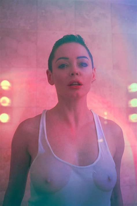 Rose Mcgowan Topless For Posture Magazine Issue 4 2017