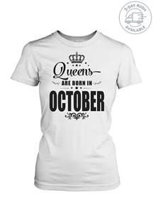 T-Shirt Born in October